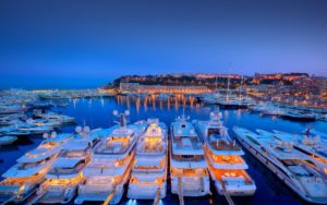 World___France_Night_port_in_Monaco_072115_